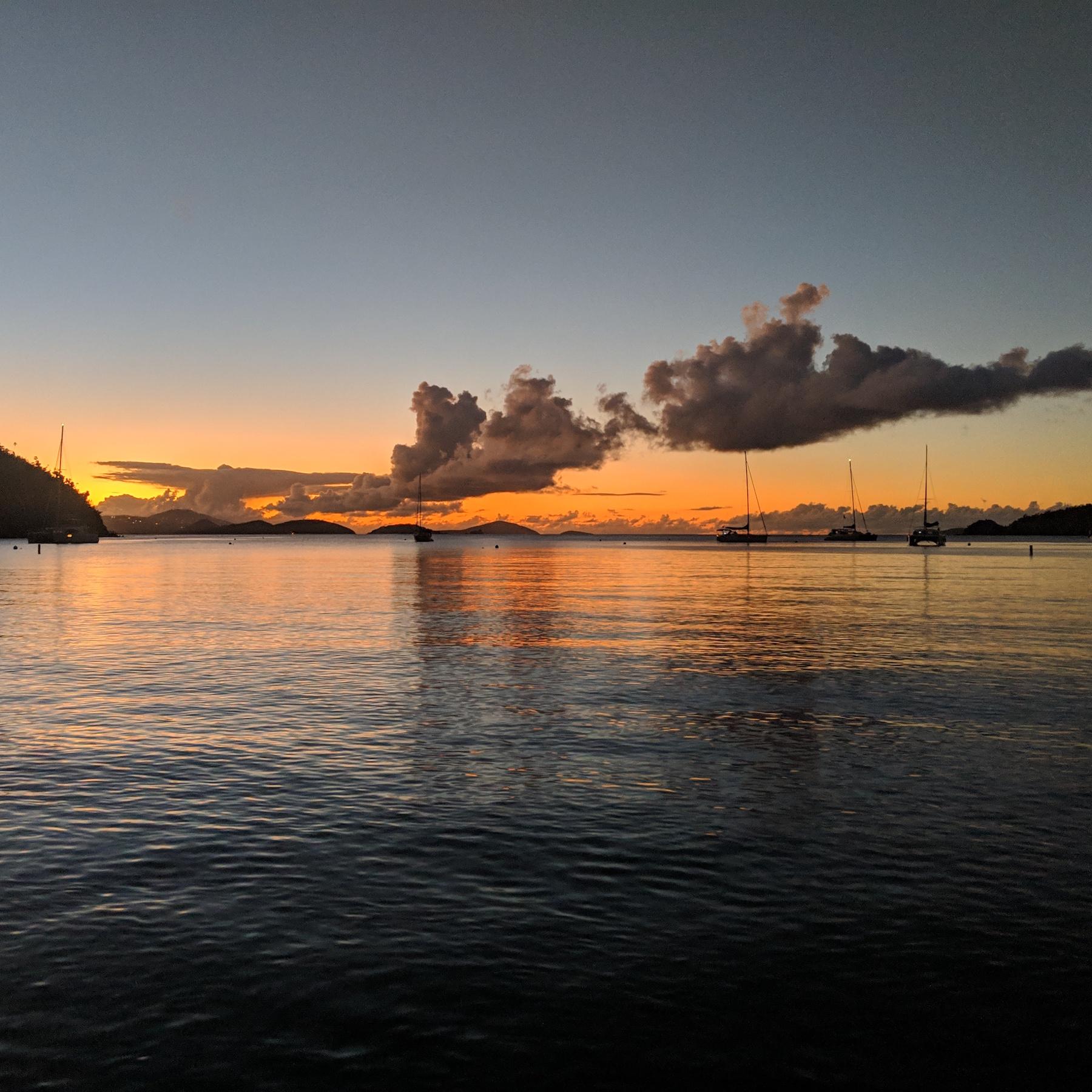 Sunset in Waterlemon Bay